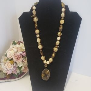 Unique Cookie Lee Beaded Necklace